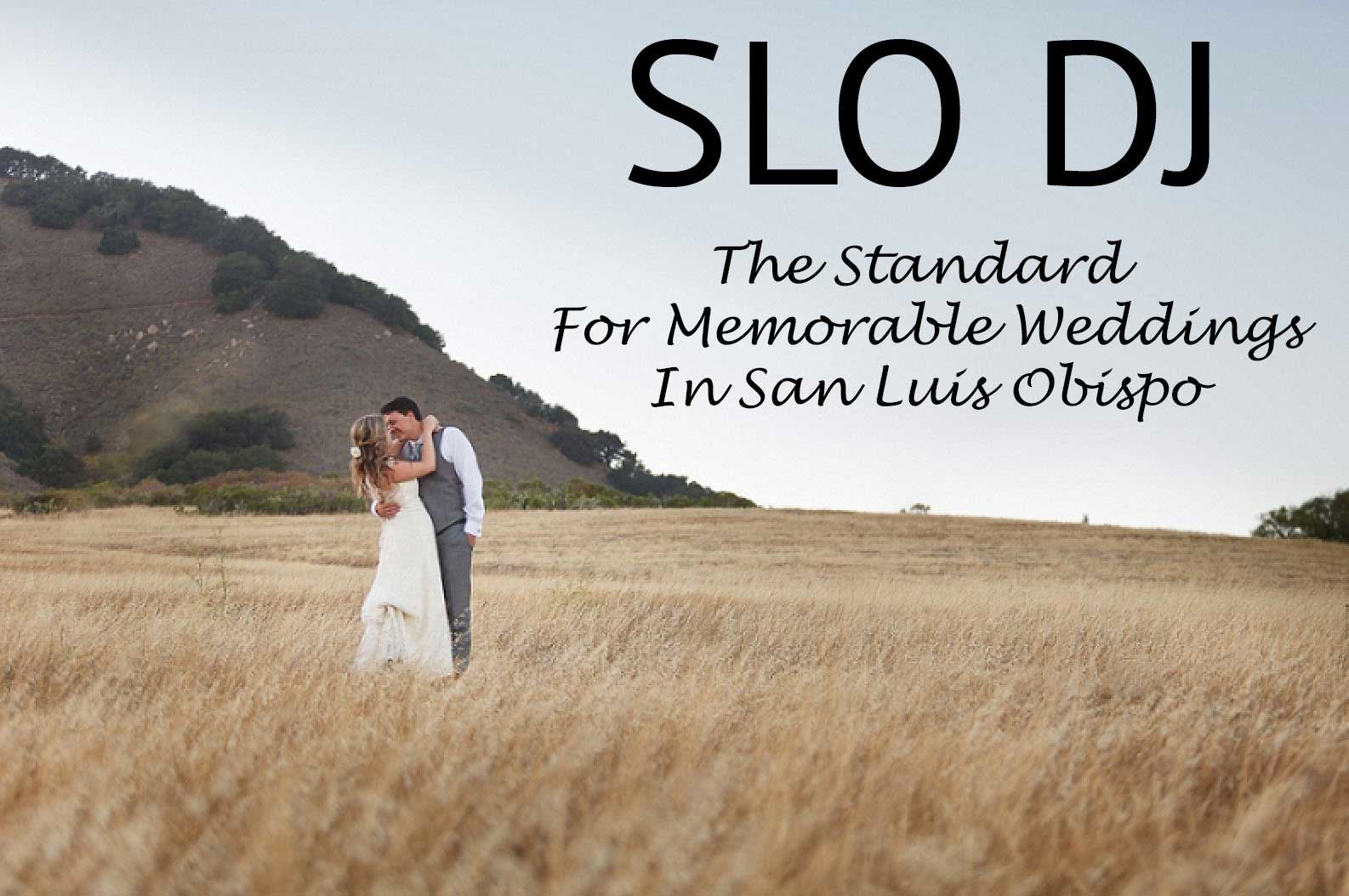 SLO DJ Weddings